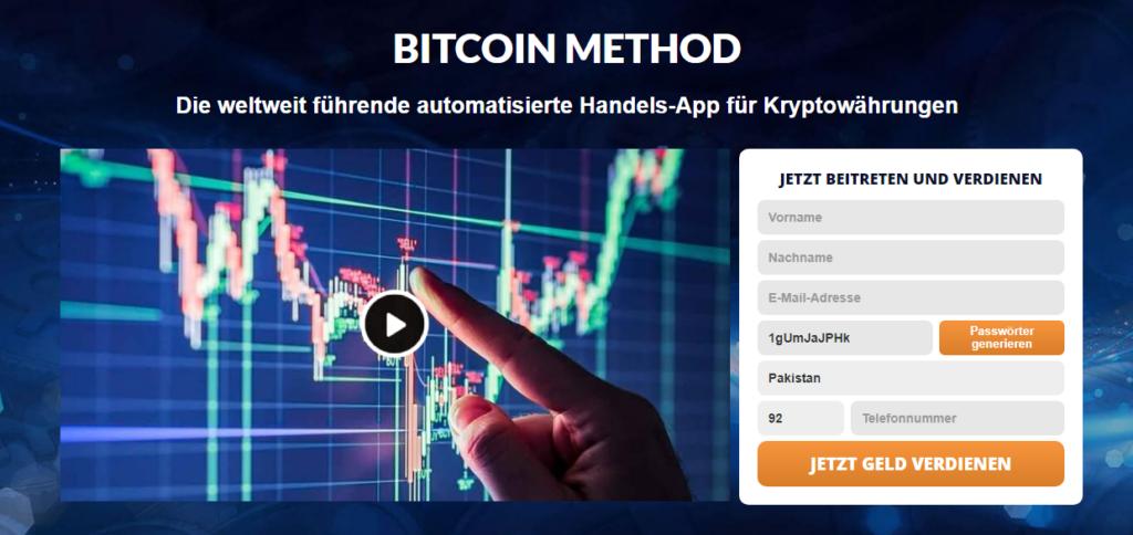 Bitcoin Methode Überprüfung 2021-Legit oder Betrug? Funktioniert diese Software wirklich?