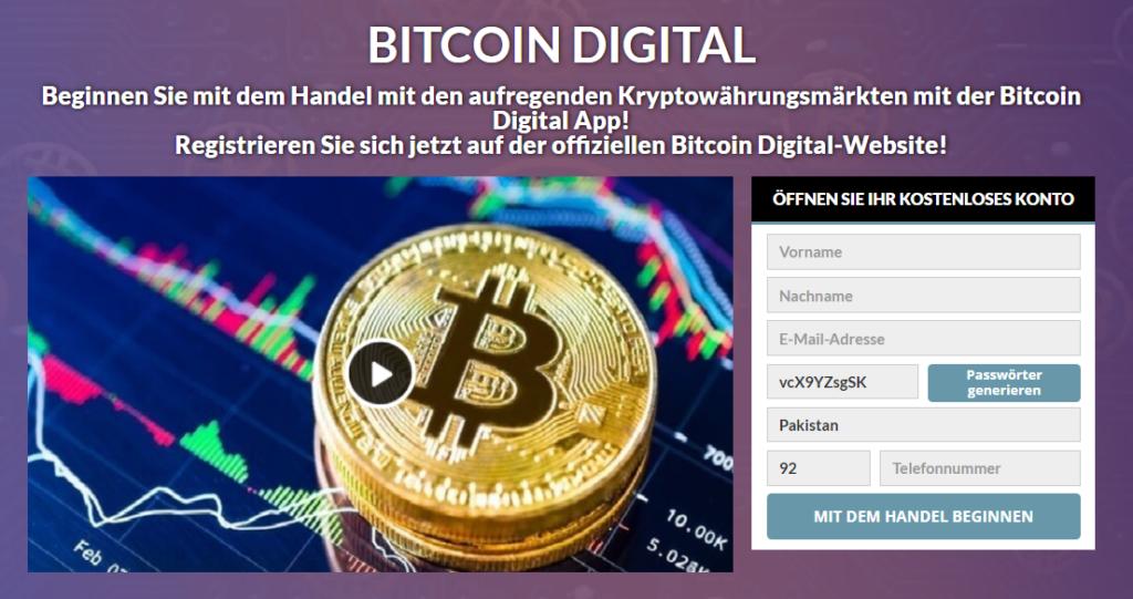Bitcoin Digital Review 2021-Legit oder Scam? Funktioniert diese Software wirklich?