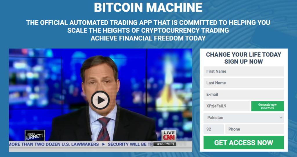 Bitcoin Machine Review 2021-Legit oder Scam? Funktioniert diese Software wirklich?