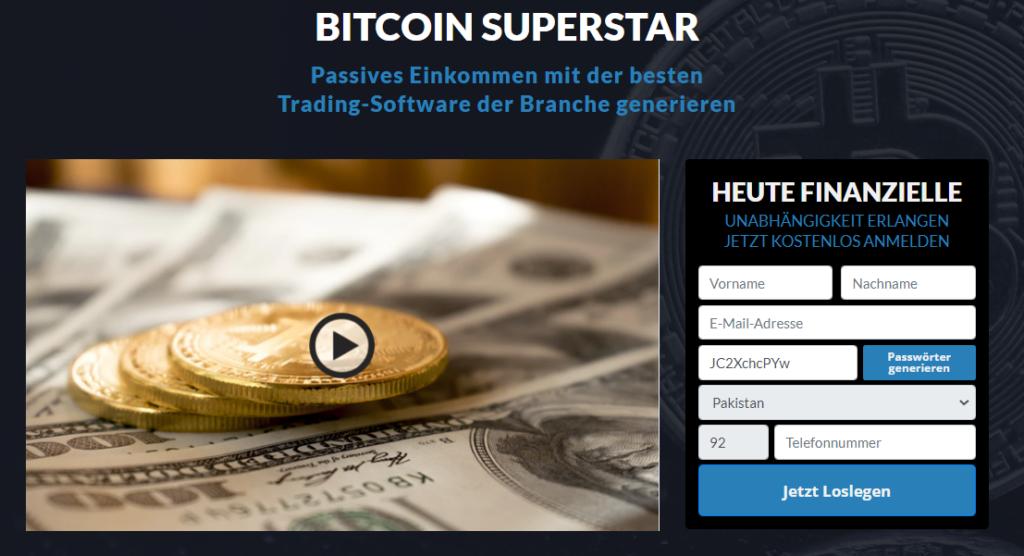 Bitcoin super Star Review 2021-Legit oder Scam? Funktioniert die App wirklich?