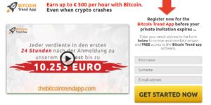 Bitcoin Trend App Review 2021-Legit oder Scam? Funktioniert diese Software wirklich?