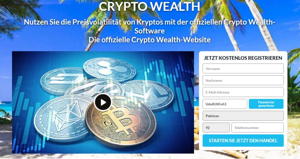 Crypto Wealth Review 2021- Legit oder Scam? Funktioniert die Software wirklich?0 (0)