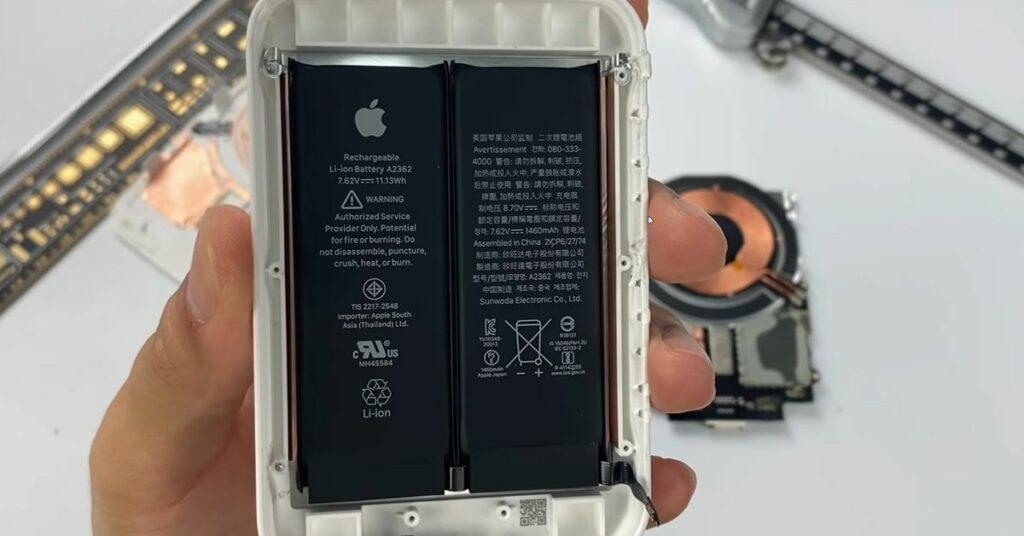 Abriss des MagSafe-Akkupacks bestätigt Dual-Cell-Design0 (0)