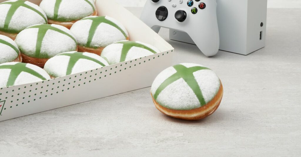 Krispy Kreme verkauft Xbox Donuts