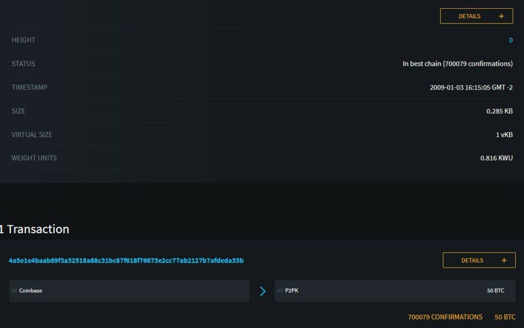 Bitcoin vervollständigt 700.000 Sicherheits- und Unveränderlichkeitsblöcke0 (0)