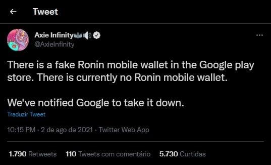 Brasilianischer Youtuber verliert beim Spielen von Axie Infinity fast 1 Ethereum0 (0)