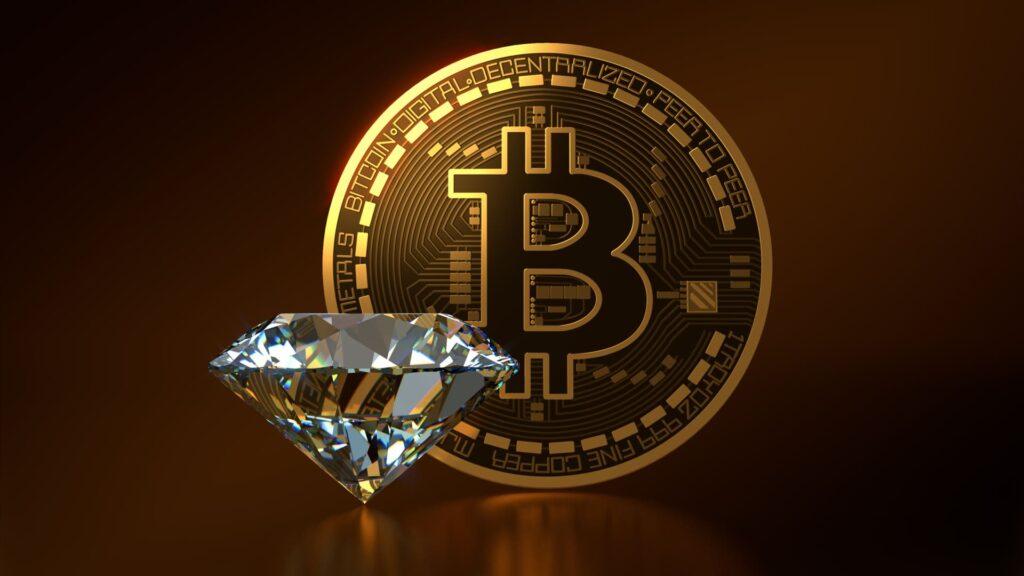 Diamanten sind für immer, Bitcoin auch0 (0)