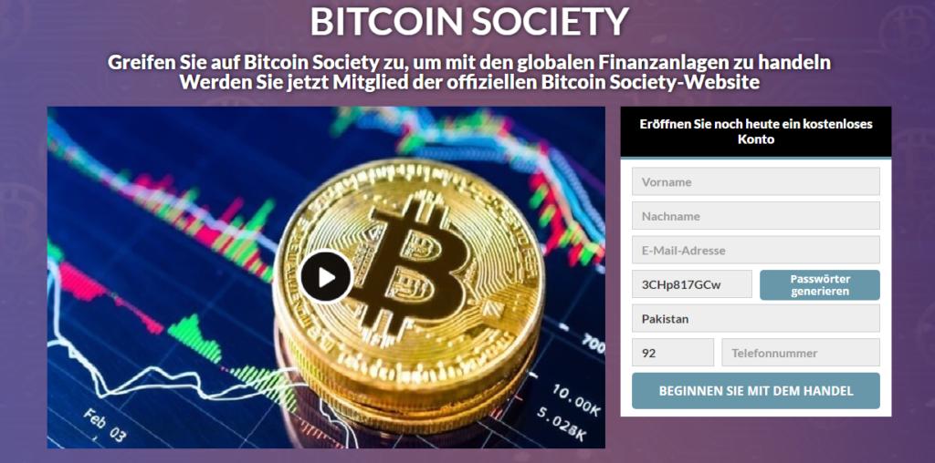 Bitcoin Society Review: Legit Oder Betrug? Funktioniert Diese Software Wirklich?