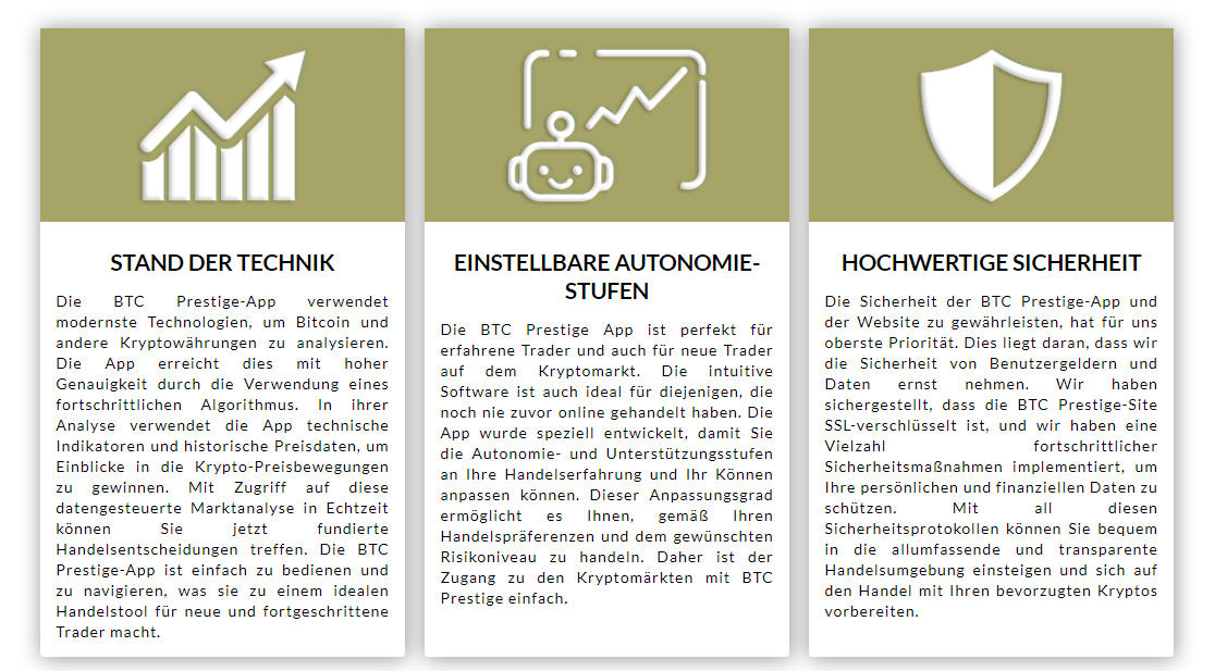 bitcoin Prestige