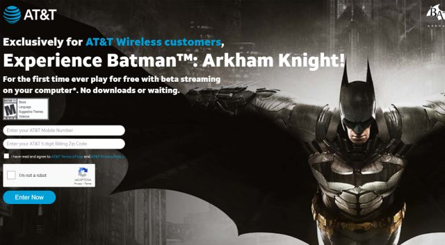 AT&Ts kostenloses Batman Cloud Gaming weist in eine andere Zukunft für Googles Stadia0 (0)