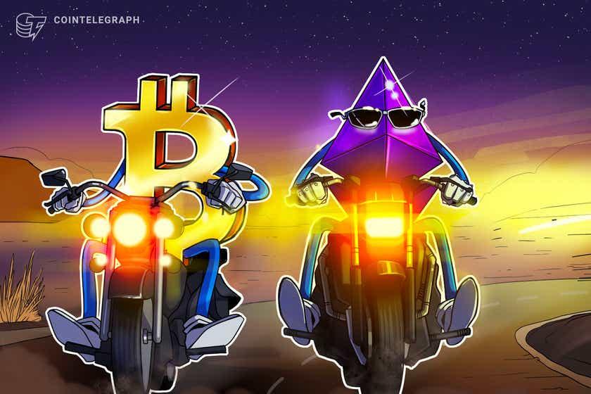 Ethereum-Augen erholen sich gegen Bitcoin, wobei der ETH-Preis eine versteckte bullische Divergenz zeigt
